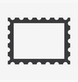 postage stamp icon vector image vector image