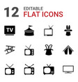 show icons vector image vector image