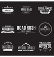Vintage Badge Design Set vector image vector image