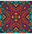 abstract festive colorful ethnic tribal pattern vector image