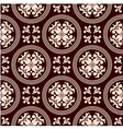 Antique seamless pattern with floral elements vector image vector image