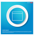 application window interface icon vector image vector image