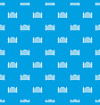 barrier pattern seamless blue vector image vector image