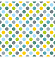 seamless pattern texture or background with dots vector image
