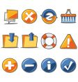 web ions fresh collection vector image