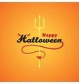 Happy Halloween1 vector image
