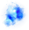 abstract watercolor stains vector image
