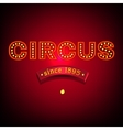 Circus Banner vector image vector image