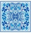 Colorful ornamental floral paisley shawl bandanna vector image vector image
