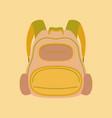 flat icon on stylish background fashionable bag vector image vector image