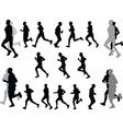 marathon - vector image vector image