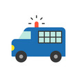 Prisoner transport van police related icon