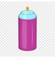spray paint icon cartoon style vector image vector image
