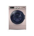 washing machine isolated on white background front vector image