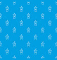 cola plastic glass pattern seamless blue vector image vector image