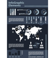 Detail business infographic vector image vector image
