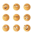 funny emotions pack vector image vector image