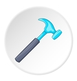 Hammer icon cartoon style vector image vector image