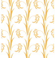 Rice Pattern vector image vector image