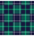 Seamless tartan background vector image
