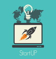 start up1 resize vector image