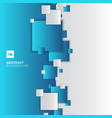 abstract blue and white gradient separate vector image vector image