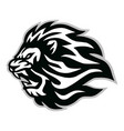 angry lion head logo icon design vector image vector image