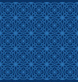 arabic seamless pattern mosaic oriental vector image