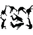 breakdance 2 - vector image vector image