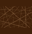 brown geometric pattern vector image