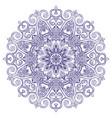 new round mandala-03 vector image