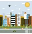 Big City life vector image vector image