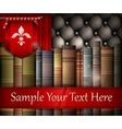 Book stack and heraldry lily vector image vector image