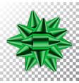 bow ribbon christmas vector image vector image
