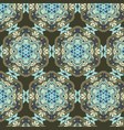 decorative detailed ethnic style pattern vector image vector image