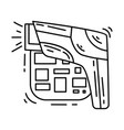 e-commerce barcode icon hand drawn icon set vector image vector image