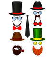 icon colorful poster man father dad day avatar vector image