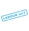Labour Day Rubber Stamp vector image vector image