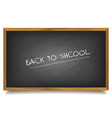 School black Board vector image vector image