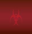 biohazard wallpaper vector image vector image