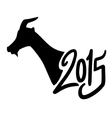 Chinese goat year vector image