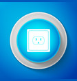 electrical outlet in the usa icon power socket vector image vector image