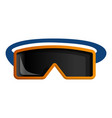 hiking glasses icon cartoon style vector image vector image