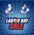 labor day sale background design vector image vector image