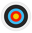 printable archery target background vector image