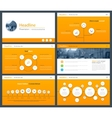 White elements of infographics for minimalist vector image vector image