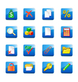 www accountant icons vector image vector image
