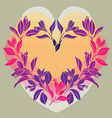 about love and flowers vector image