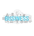 Business Linear Design vector image