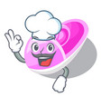 chef shoes baby above the character rak vector image vector image